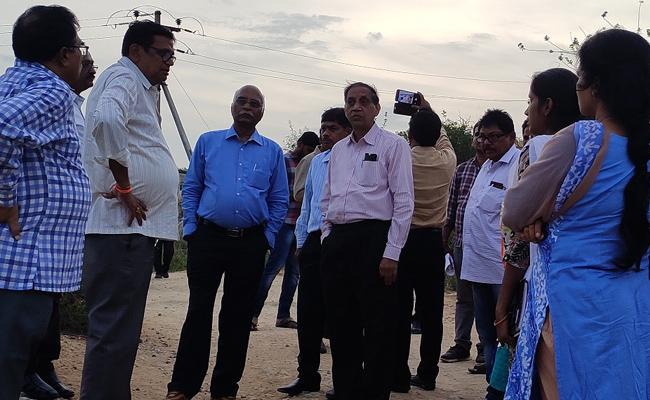Irrigation Expert Committee Visits Chittoor District - Sakshi