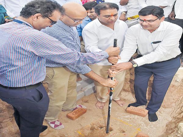 KTR Says Healthy Telangana is our goal - Sakshi