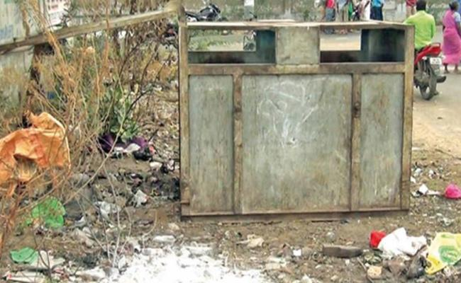 Man Throws Mother Dead Body in Dustbin Tamil Nadu - Sakshi