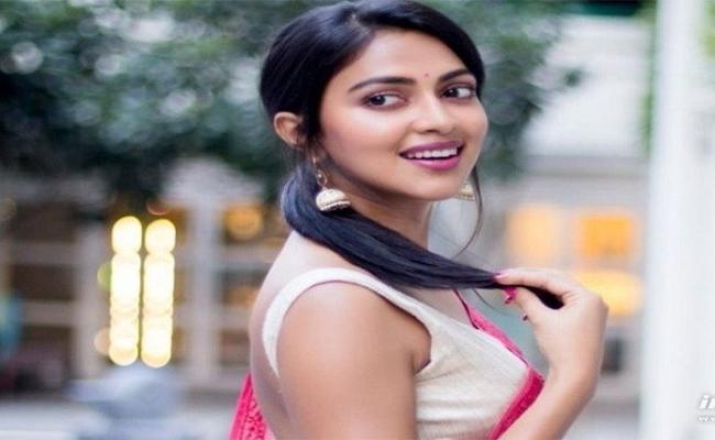 Amala Paul in Jersey Tamil Remake - Sakshi