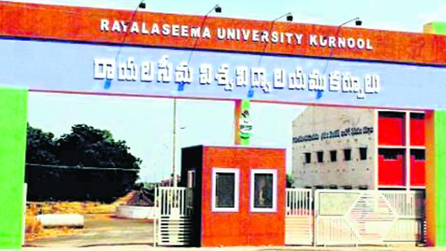 Professors Are Not Take Official Positions In Rayalaseema University - Sakshi
