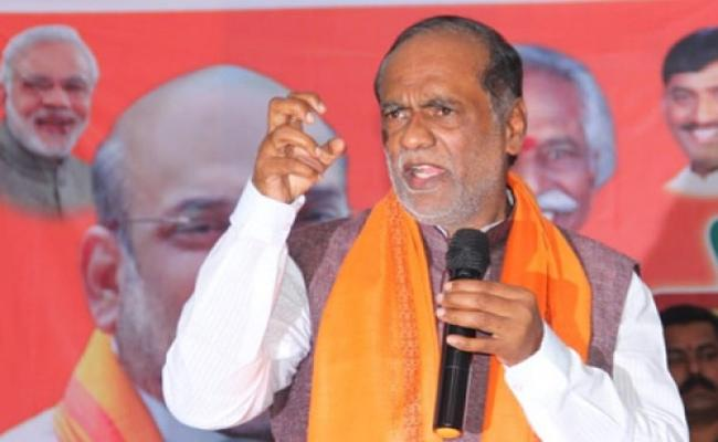 BJP Telangana President Laxman Fires On TRS In Bhongir - Sakshi