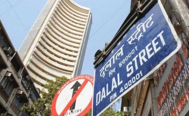 Stockmarkets gains near 500 points - Sakshi