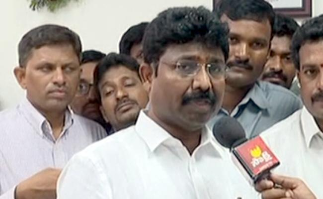 Minister Adimulapu Suresh Slams TDP Govt Over Fee Reimbursement Pending - Sakshi