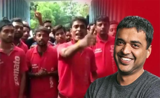 Zomato CEO Deepinder Write Letter To delivery Boys Over Their Protest - Sakshi