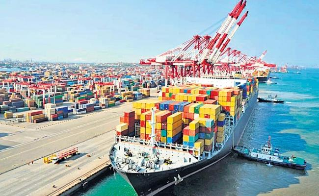 Exports growth inches up 2.25 per cent in July - Sakshi