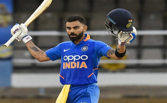 India Won the Series 2-0 vs West Indies With Kohli Century - Sakshi