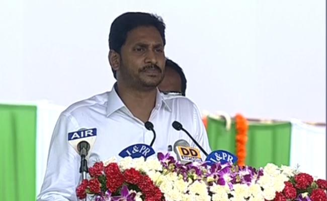 CM YS Jagan Mohan Reddy Independence Day Speech - Sakshi