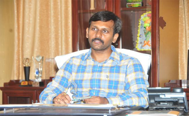 COllector Hari Kiran Says, AP Government Will Get New Governance From Today  - Sakshi