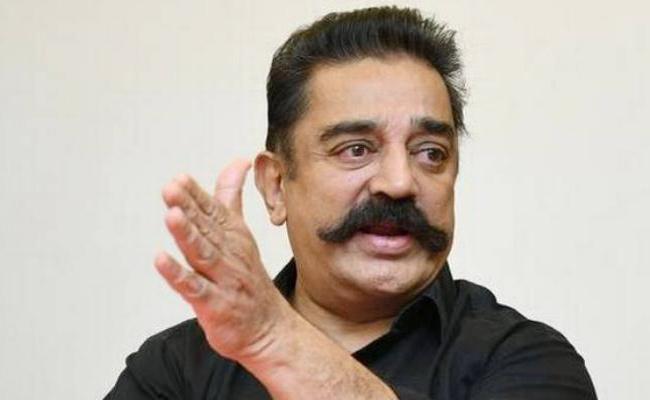 Kamal Haasan Plans For Makkal Needhi Maiam Party - Sakshi