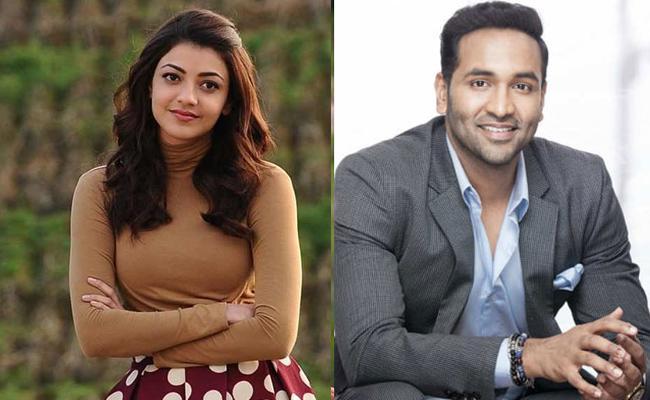 Kajal Aggarwal Turns Sister For Manchu Vishnu - Sakshi