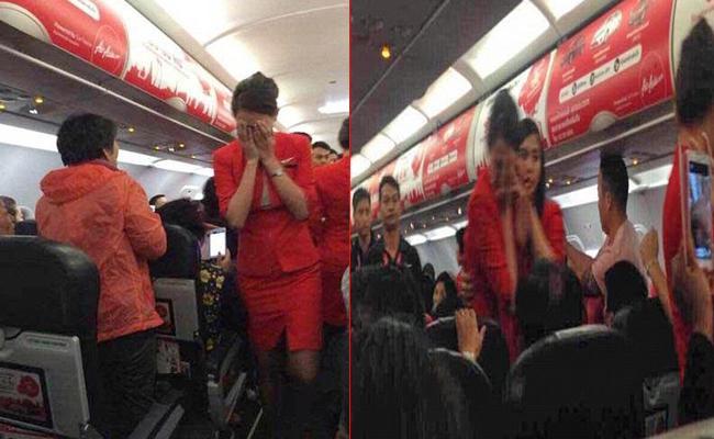 Nuralia Mazlan Explained Chinese Flyer Threw Hot Water At Air Hostess - Sakshi