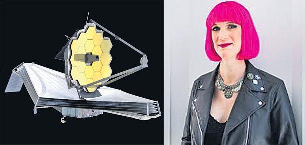 charlie jane anders letter to James Webb Space Telescope - Sakshi