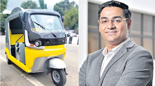 First instantly-charging electric 3-wheeler unveiled - Sakshi