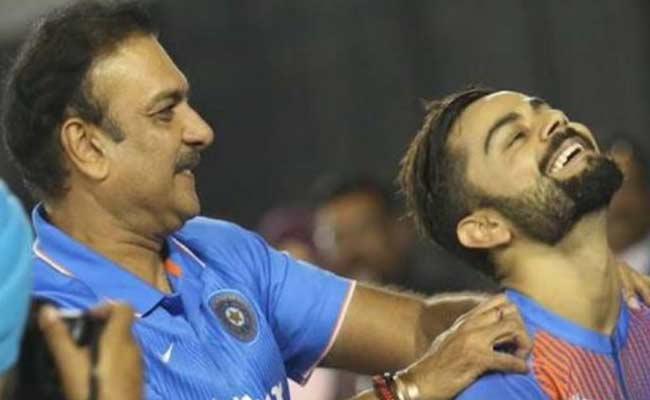 Sacred Games Fans Hilarious Memes On Ravi Shastri And Virat Kohli - Sakshi