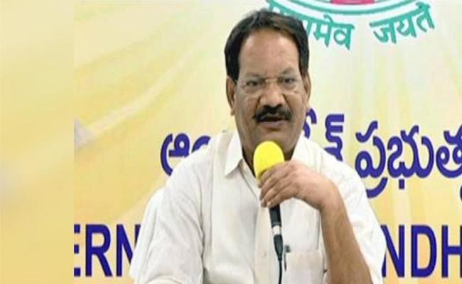 Case Filed Against Former Minister Nakka Anand Babu - Sakshi
