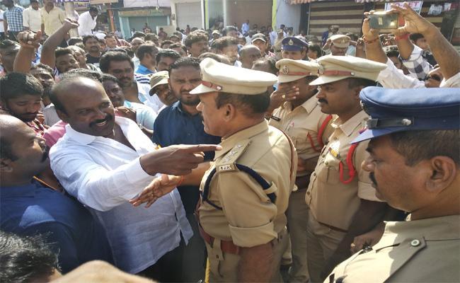 Karanam Balaram Gave Warning To YSRCP Leader On Independence Day - Sakshi