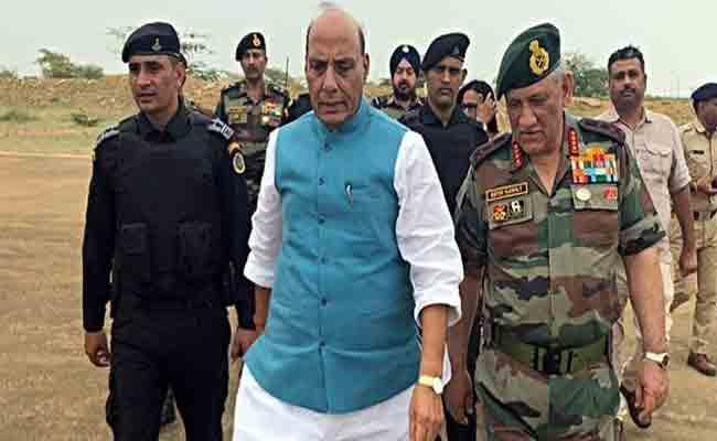 Rajnath Singh Comments On India Nuclear Policy - Sakshi