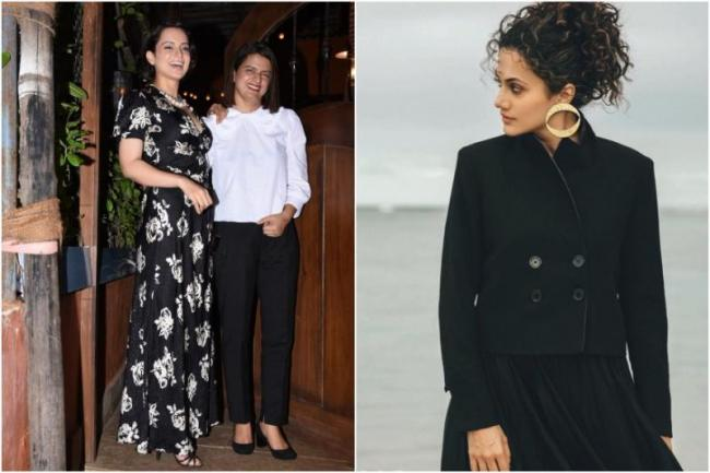 Rangoli Chandel Questions Taapsee Pannu For What We Should Praise You - Sakshi