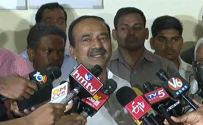 Etela Rajender Comments On Aarogyasri Strike - Sakshi