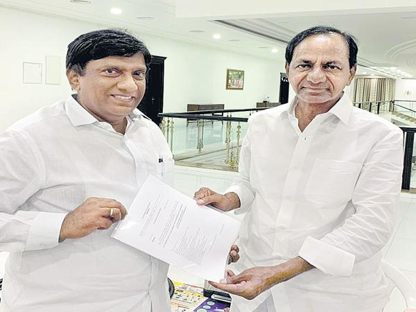 Vinod Kumar as Vice President of Planning Commission - Sakshi