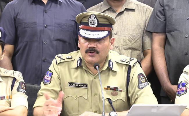 CP Anjani Kumar Said 3 Members Of Parthi Gang Arrested - Sakshi