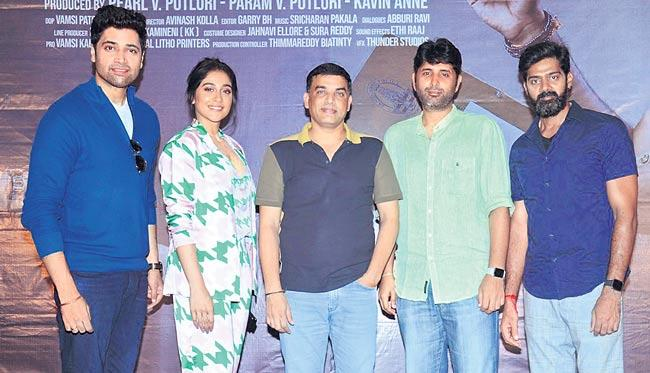 Dil Raju Speech At Evaru Movie press Meet - Sakshi