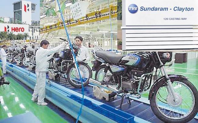 Hero MotoCorp announce temporary production shutdown amid slowdown - Sakshi