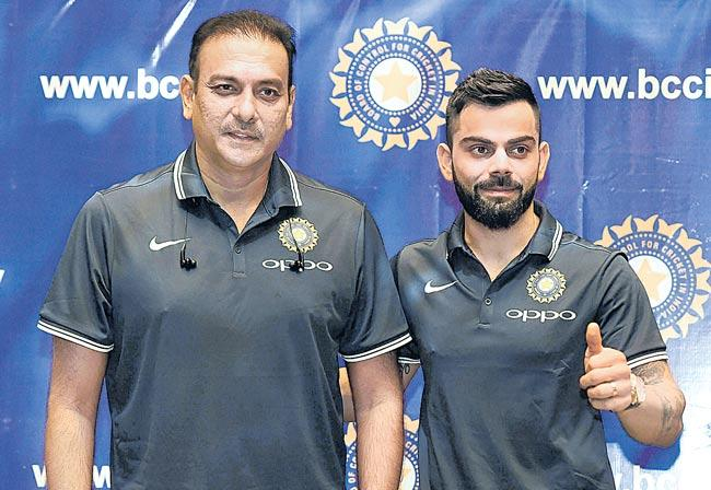 Ravi Shastri reappointed head coach of Indian team - Sakshi