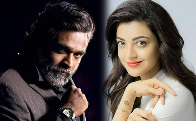 Kajal Aggarwal And Vijay Sethupathi In Awe Sequel - Sakshi