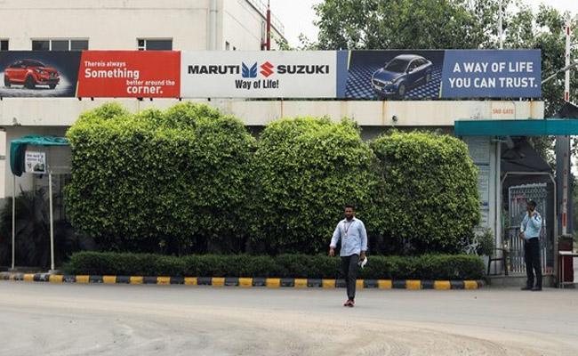 Over 3000 temporary jobs cut due to slowdownMaruti Suzuki - Sakshi
