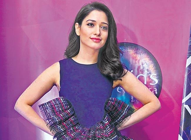 Tamannaah to make her Malayalam debut with Central Jayile Pretham - Sakshi