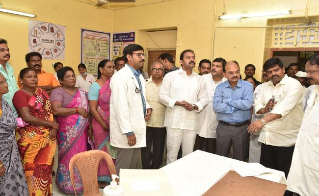 AP Health Minister Alla Nani Gave Warning To Public Hospitals In West Godavari - Sakshi