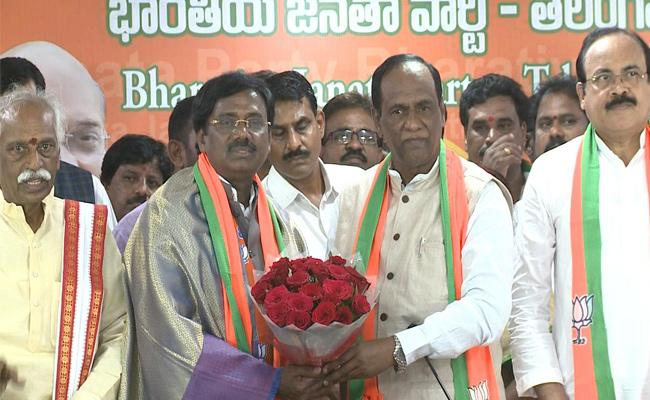 BJP Membership Registration Program In Mancherial - Sakshi