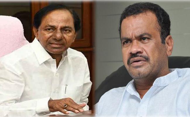 Komatireddy Venkat Reddy Meeting With CM KCR - Sakshi