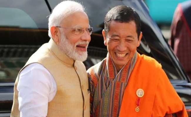 Bhutan PM Lotay Tshering Praises Narendra Modi - Sakshi
