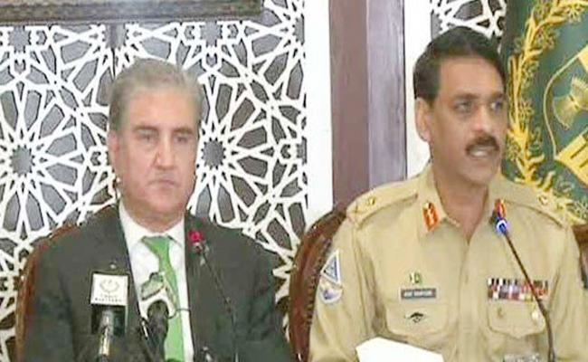 Pak ISPR Says Their Security Linked With Kashmir After Rajnath Comments - Sakshi