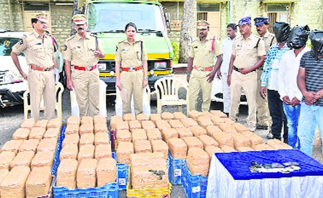 Ganja Possession In kurnool - Sakshi