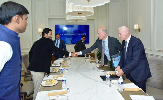 YS Jagan Meets US Consulate General Hyderabad In America - Sakshi