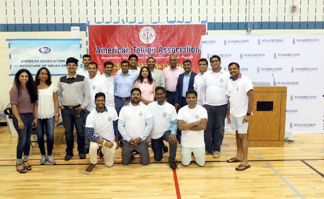 ATA Organised A Mega Medical Camp In Washington - Sakshi