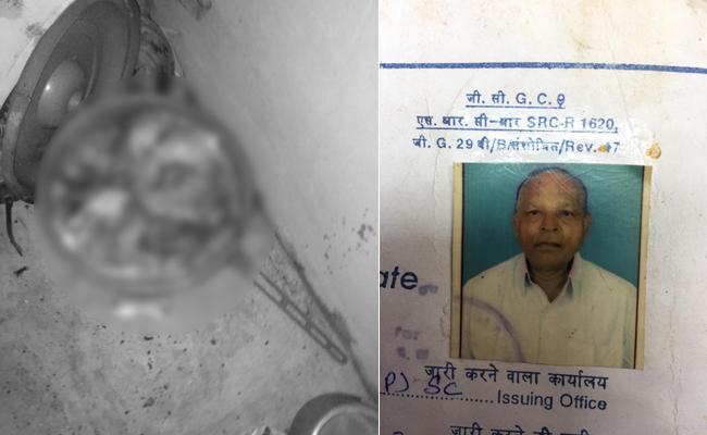 Son Murdered Father Brutally In Hyderabad - Sakshi