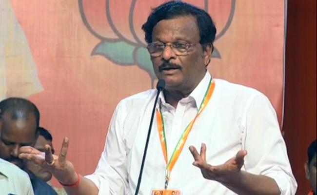 Garikapati Mohan Rao Speech In BJP Public Meeting At Hyderabad - Sakshi