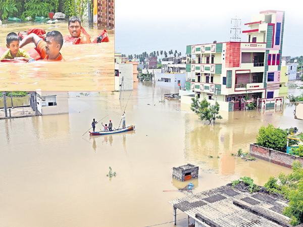 CM YS Jagan Review On Floods from America  - Sakshi