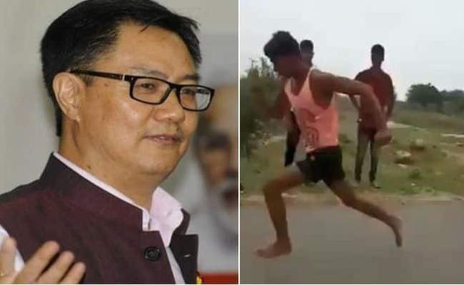 Indian Sprinter Sets Twitter Ablaze With Lightning Speed - Sakshi