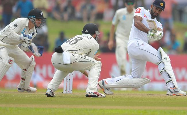 Sri Lanka Beat New Zealand By 6 Wickets In 1st Test - Sakshi