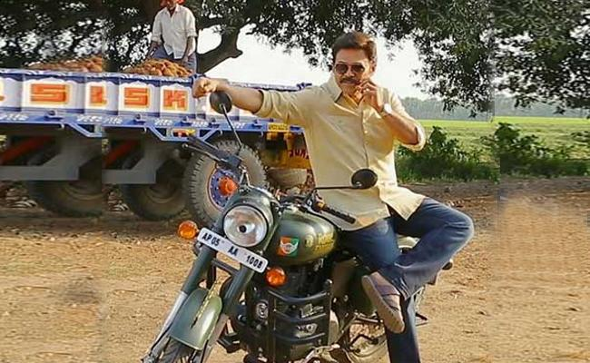 Venkatesh Injured In Venky Mama Shooting - Sakshi