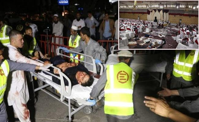 Major Bomb Blast At Wedding Ceremony In Kabul 63 Dies - Sakshi
