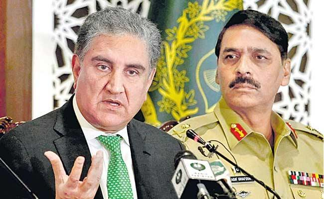 May India Attack On Me Says Pak Minister Qureshi - Sakshi