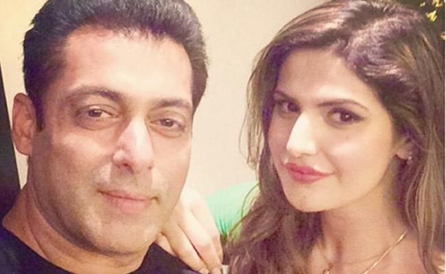 Salman Khan Is Getting Married Me Says Zareen Khan In Interview - Sakshi