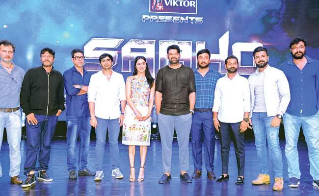 Rebel Star Krishnam Raju Speech At Saaho Pre Release Event - Sakshi